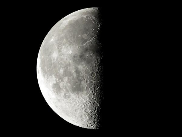 Lune - AstroQueyras - Flat field camera 180 / 760