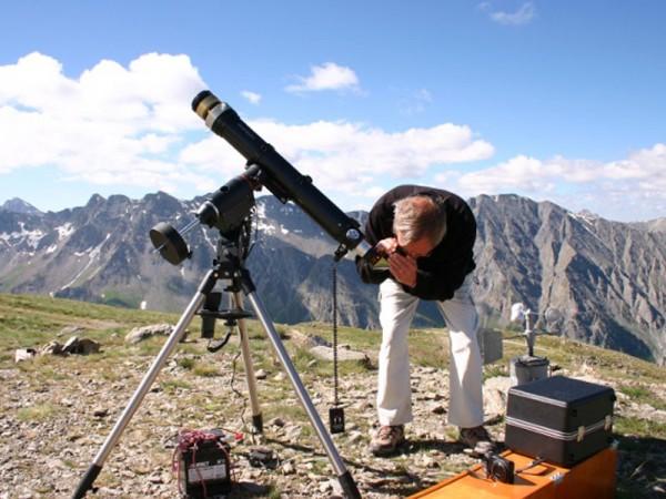 Observation du Soleil à la lunette